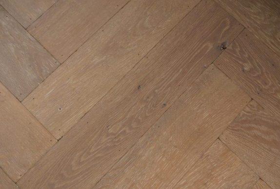 Duoplank vloer - licht gerookt chalk