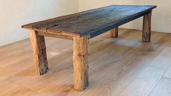 Massief Nieuw eiken tafels