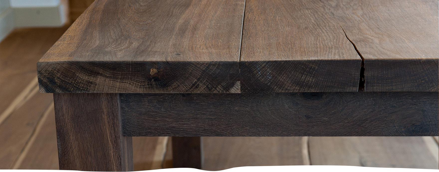 Nieuw eiken tafels - De Hout Snip