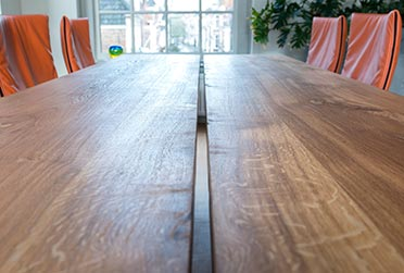 Nieuw eiken tafels