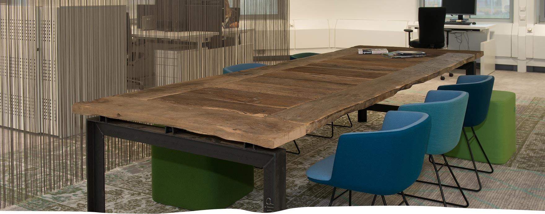 Oud eiken tafels - De Hout Snip