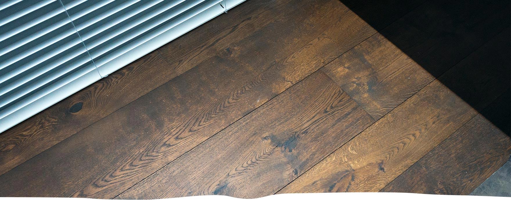 Karaktervolle duoplank vloer met vloerverwarming - De Hout Snip